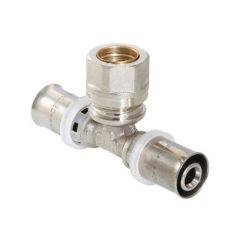Тройник Valtec VTm.233.N под запрессовку 26 мм х 3/4