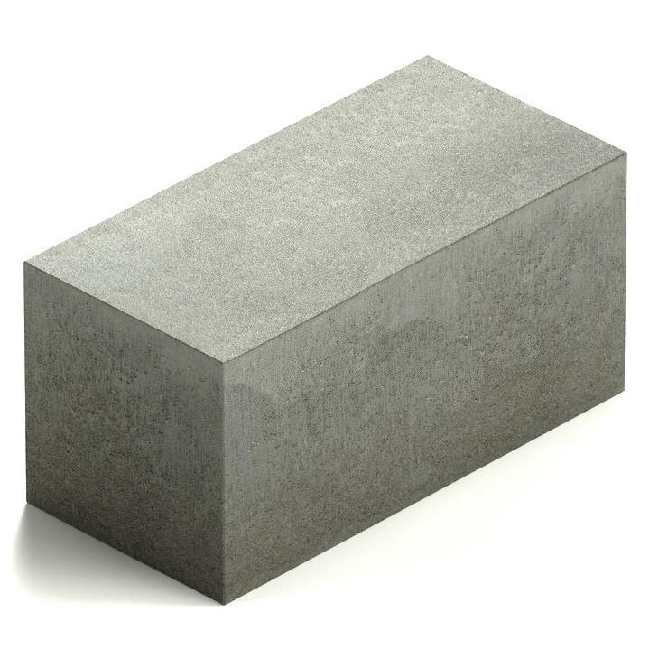 Блок бетонный полнотелый Steingot М100 390х190х188 мм