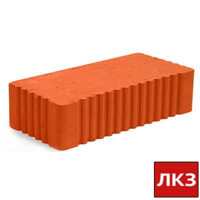 Кирпич строительный КЗ Липковский одинарный полнотелый рифленый М-150