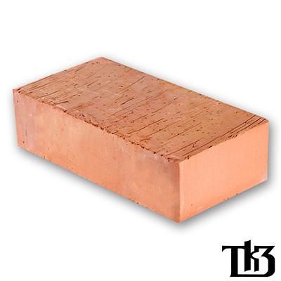 Кирпич строительный КЗ Тульский одинарный полнотелый М-200