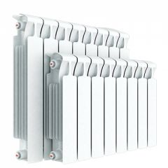 Радиатор биметаллический Rifar Monolit 500 мм х 5 секций