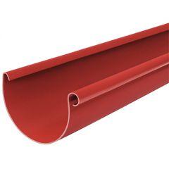 Желоб водосточный Водостокстрой красный 125х3000 мм