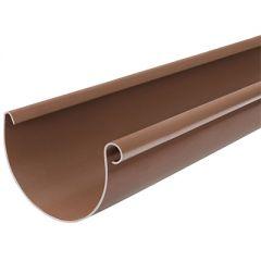 Желоб водосточный Водостокстрой коричневый 125х3000 мм