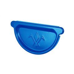 Заглушка желоба Водостокстрой синяя 125 мм