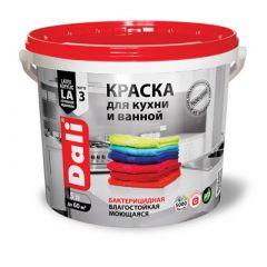 Краска акриловая Дали для кухни и ванной база А 5 л