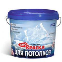 Краска акриловая Farbitex для потолков 3 кг