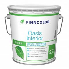 Краска Finncolor Oasis interior база А 2,7 л