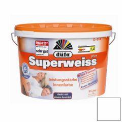 Краска Dufa Superweiss RD 4 влагостойкая супербелая 10 л