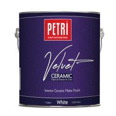 Краска акриловая велюровая с керамическими частицами матовая Petri Velvet Ceramic 3,8 л