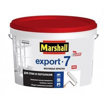 Краска Marshall Export-7 база BW 2,5 л