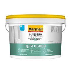 Краска Marshall Maestro интерьерная классика база BW 2,5 л