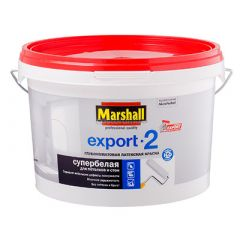 Краска Marshall Export-2 база BW 9 л