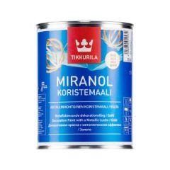 Краска декоративная Tikkurila Miranol серебро 0,1 л