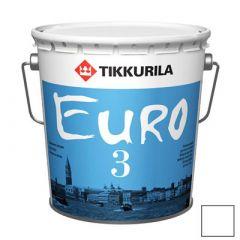 Краска латексная Tikkurila Евро-3 А 9 л