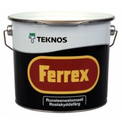 Краска Teknos Ferrex 2,7 л