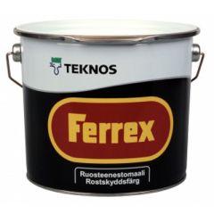 Краска Teknos Ferrex 9 л