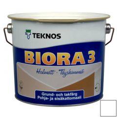 Краска Teknos Biora 3 Kattomaali 2,7 л