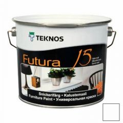 Краска Teknos Futura 15 РМ3 2,7 л