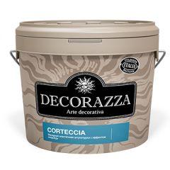 Декоративное покрытие Decorazza Corteccia с эффектом короед 15 кг
