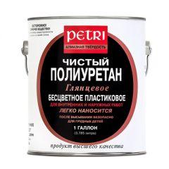 Лак полиуретановый глянцевый Petri Diamond Hard 9,5 л