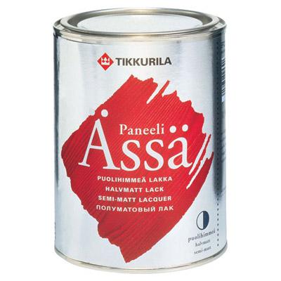 Лак Tikkurila Paneeli Assa EP полуматовый 0,9 л