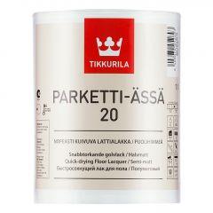Лак Tikkurila Parketti Assa 20 полуматовый 1 л