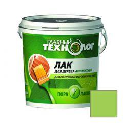 Лак акрилатный Новбытхим Главный Технолог Еловая зелень 0,5 кг