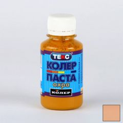Колер-паста Текс №9 Охра 0,5 л