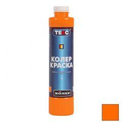 Колер-краска Текс №02 оранжевая 0,75 л
