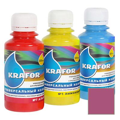 Колер Krafor универсальный сиреневый 0,1 л