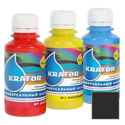 Колер Krafor универсальный чёрный 0,1 л