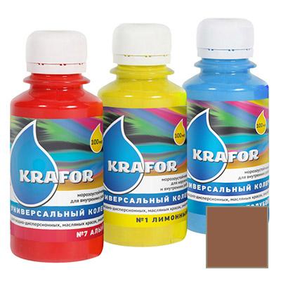 Колер Krafor универсальный шоколад 0,1 л