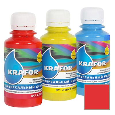 Колер Krafor универсальный алый 0,1 л