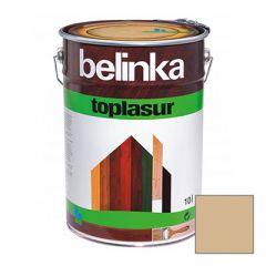 Декоративное покрытие Belinka Toplasur с воском №28 старая древесина 10 л