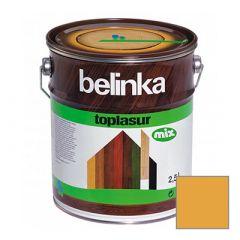 Декоративное покрытие Belinka Toplasur с воском №16 орех 2,5 л