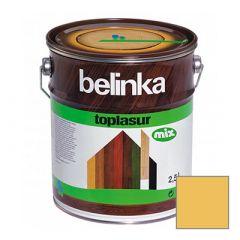 Декоративное покрытие Belinka Toplasur с воском №14 лиственница 2,5 л