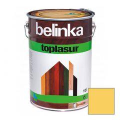 Декоративное покрытие Belinka Toplasur с воском №25 пиния 10 л