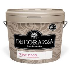 Декоративное покрытие Decorazza Fleur Deco amber янтарное 1 л