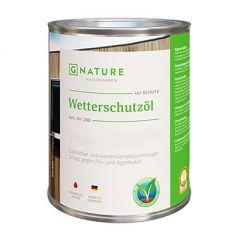 Масло G-NATURE 280 Wetterschutzol защитное для фасадов 10 л