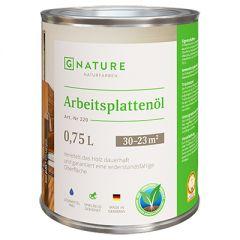 Масло G-NATURE 220 Arbeitsplattenol для столешниц 0,75 л
