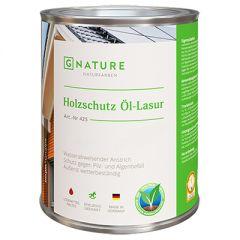 Масло-лазурь G-NATURE 425 Holzschutz Ol-Lasur для дерева 10 л