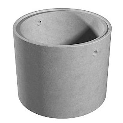 Кольцо ж/б стеновое КЦД 10-9 1x0,9 м с дном с замком