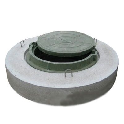 Крышка колодца ППЛ 15-1 с люком