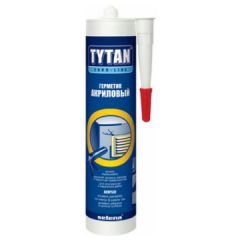 Герметик Tytan акриловый Euro-Line белый 290 мл
