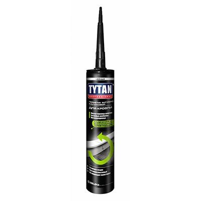 Герметик Tytan кровельный битумно-каучуковый черный 310 мл