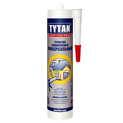 Герметик силиконовый Tytan универсальный белый 310 мл