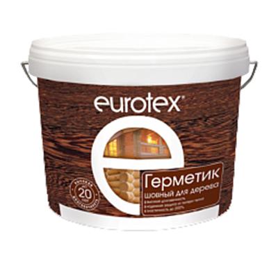 Герметик Евротекс для дерева 3 кг белый