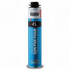 Пена монтажная полиуретановая Kudo Home 45 всесезонная 1000 мл