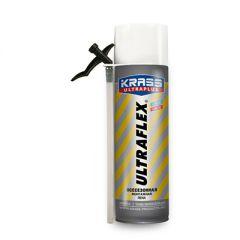 Пена монтажная Krass Ultraplus Ultraflex всесезонная бытовая 500 мл