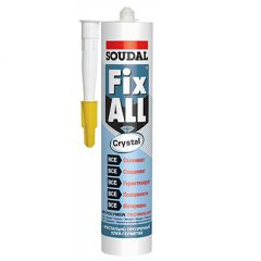 Клей-герметик Soudal Fix All Crystal прозрачный 290 мл